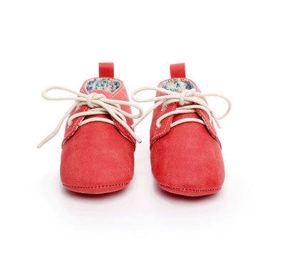 Oxford Slippers (Red)
