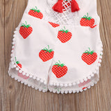 Little Strawberry Romper