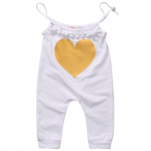 Heart of Gold Romper