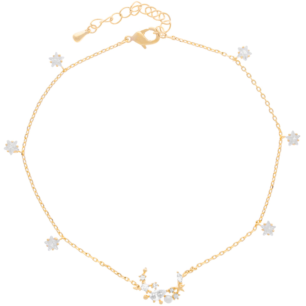 Moonlight Anklet : Gold