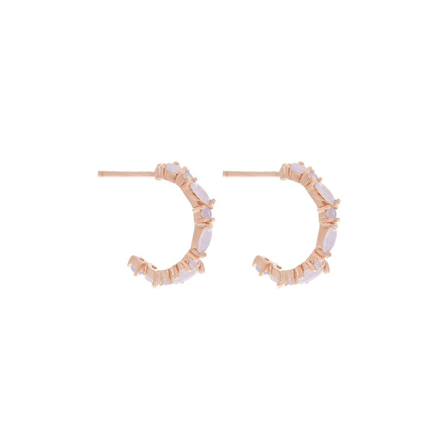 Mini Lily Hoops