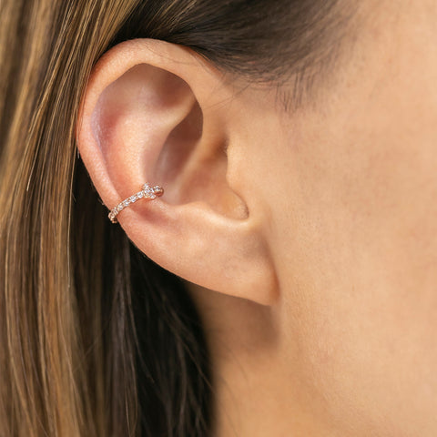 Moon Sparkle Ear Cuff