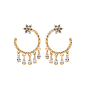 Celeste Shaker Earrings: Gold