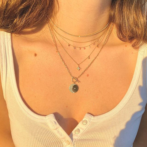 Tennis Bling Necklace