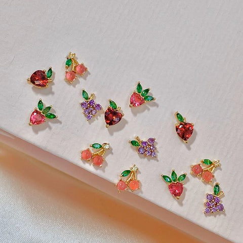 Strawberry Cream Piercing Style Earring