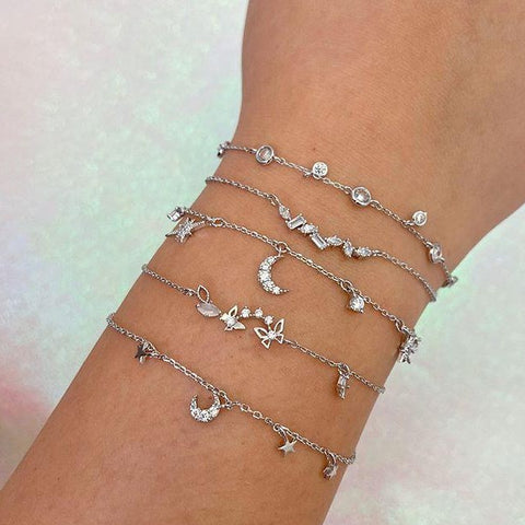 Dripping Diamonds Bracelet