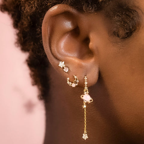 Baby Star Dangle Studs