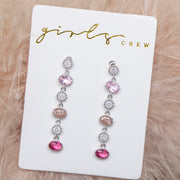 Sleeping Beauty Dangle Earrings