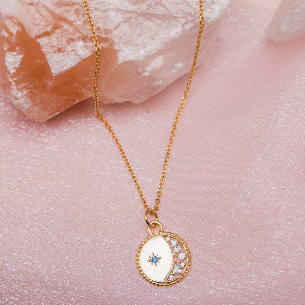 Starlight Necklace : Gold
