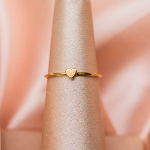 Amore Stacker Ring : 14k Gold filled