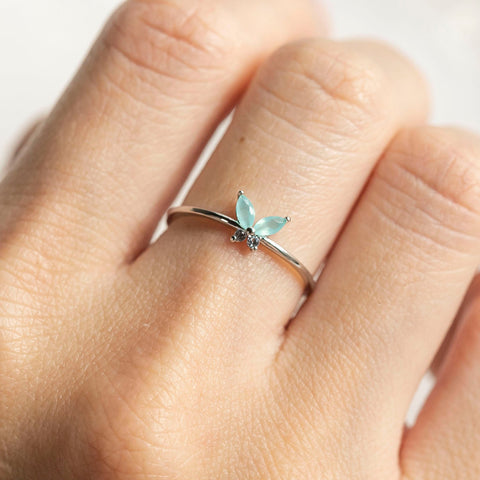 Mint Mari Ring