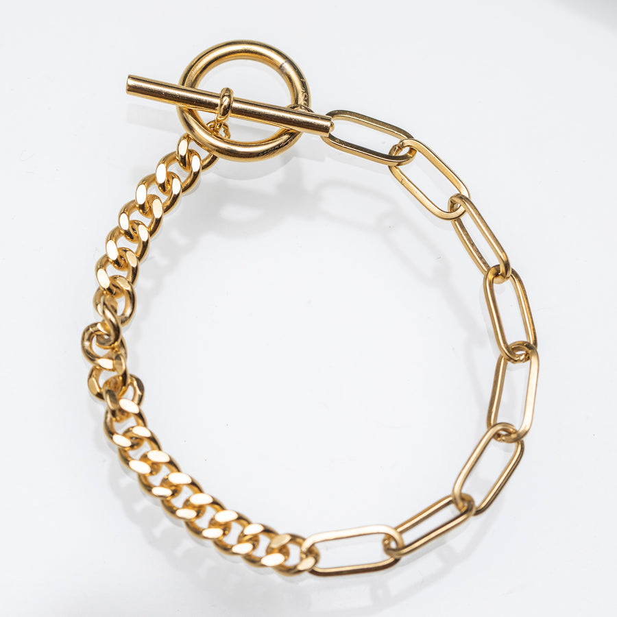 Take Two Chain Bracelet