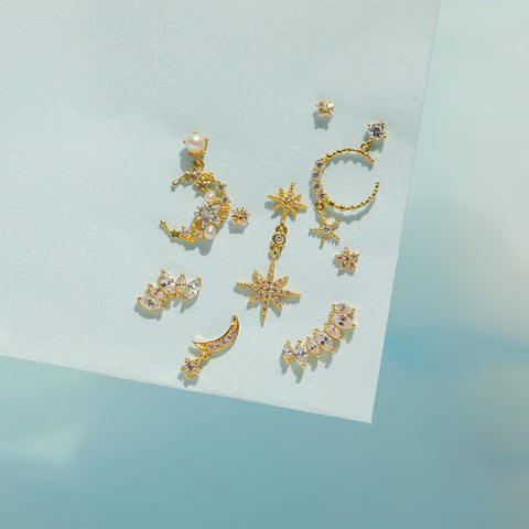 Fine Stargazing Earrings