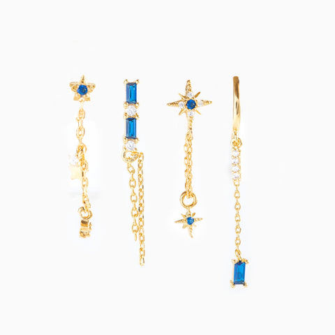 Into the Blue Earring Set