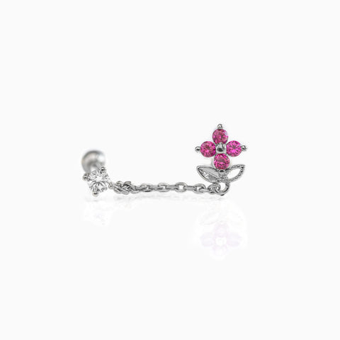 Garden Party Double Piercing Style Earring