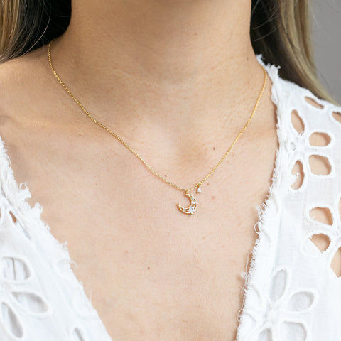 Dany Celestial Necklace : Gold