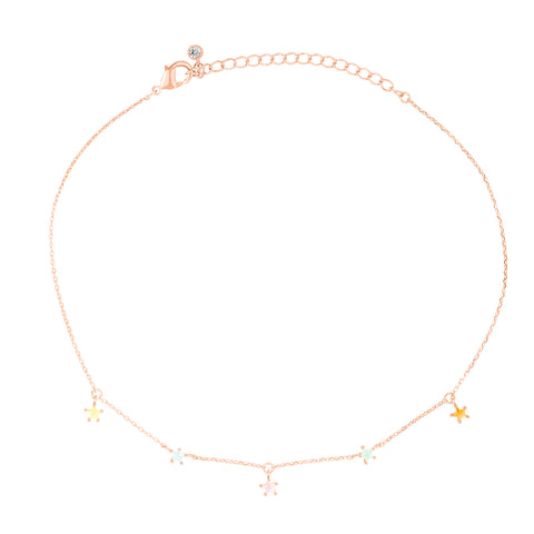 Lucky Charm Star Anklet