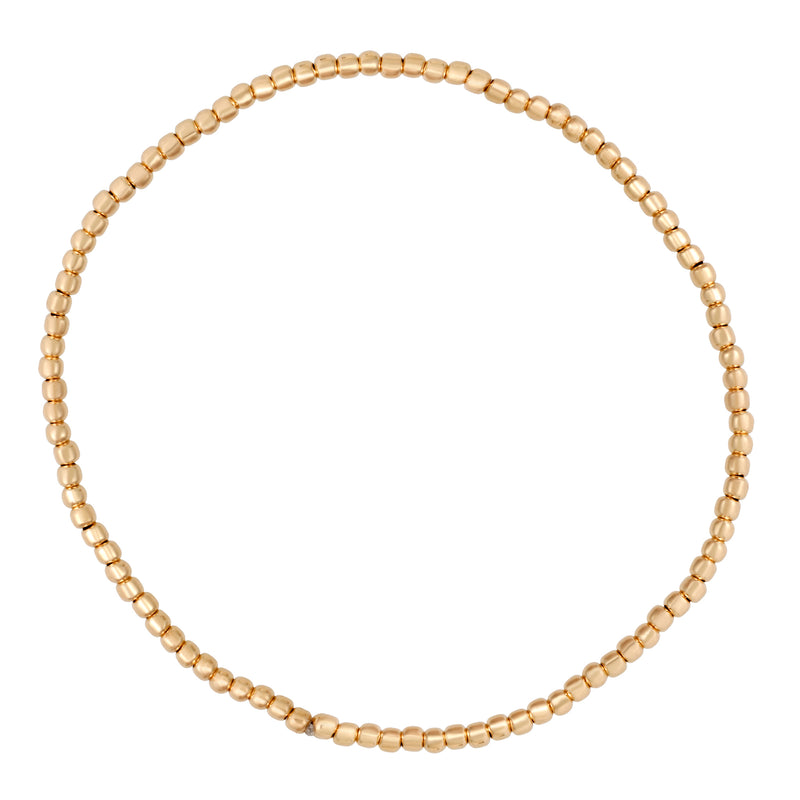 Tiny Ball Bracelet : 14k Gold Filled