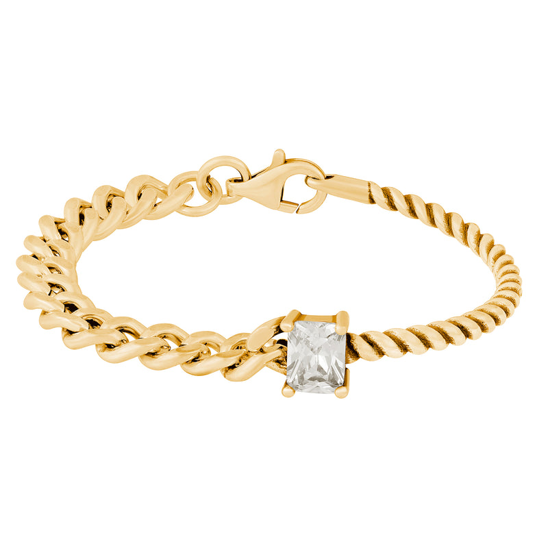 Mixed Feelings Bracelet : Gold