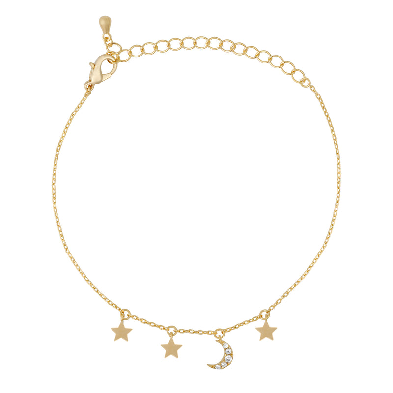 Out of This World Charm Bracelet : Gold