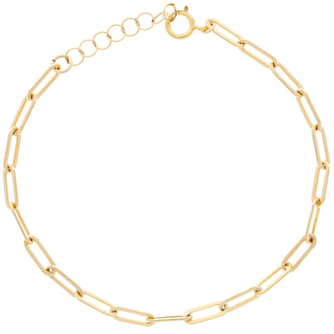 Mini Linked Bracelet : Gold
