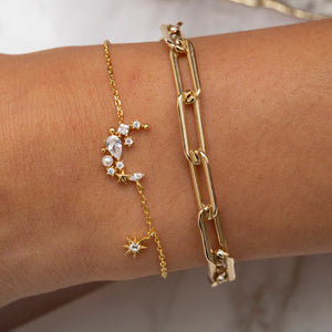 Moonlight Bracelet : Gold