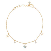 Winter is Coming Star Bracelet