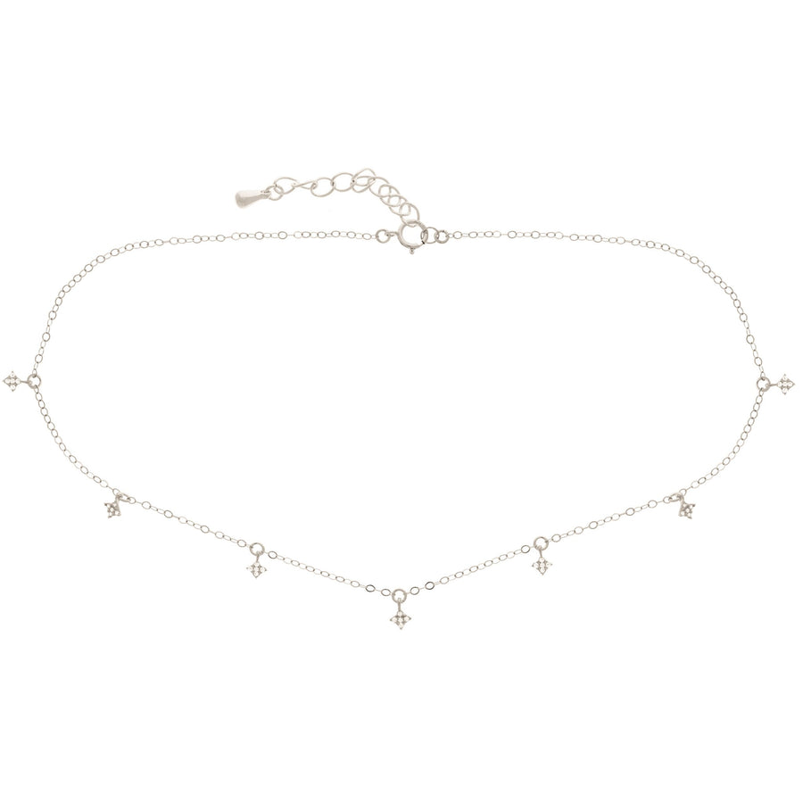 Diamond Dangle Choker