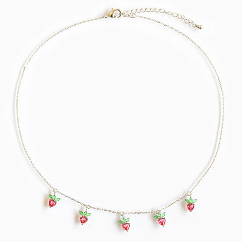 Strawberry Choker