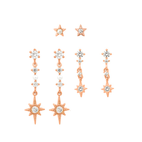 Glisten Up Earring Set