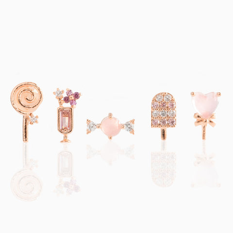Sweet Tooth Earring Set