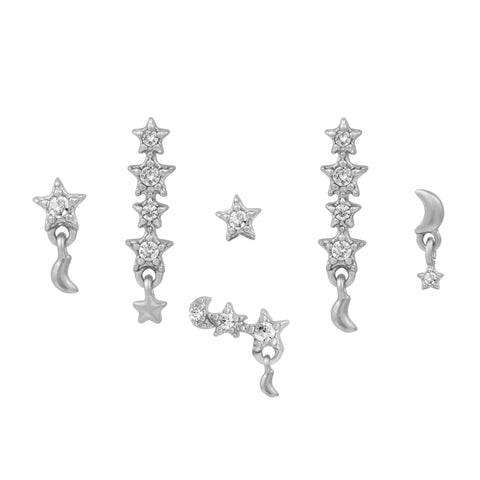 Defying Gravity Earring Set
