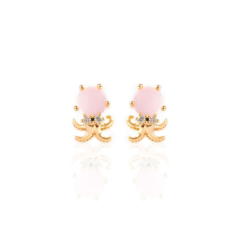 Happy Octopus Studs