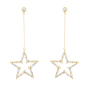 Be That Star Dangle Earrings