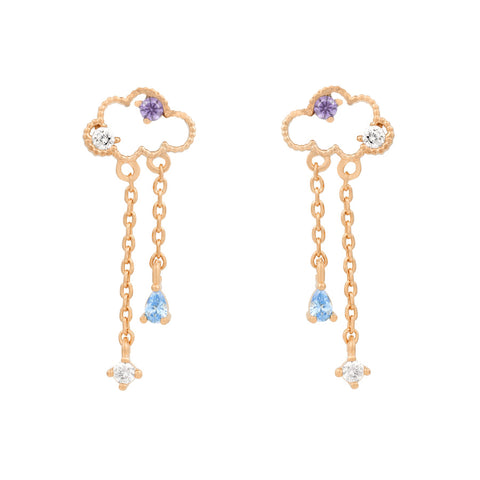 Reigning Clouds Dangle Earrings