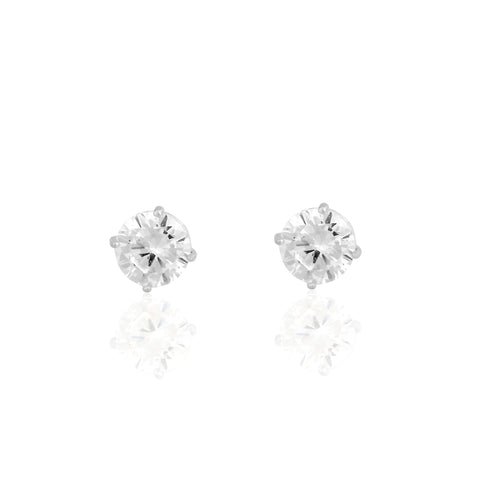 14k Fine Perfect Stud Earrings