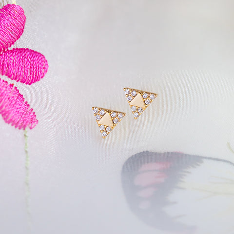 Triangle Cubic Studs