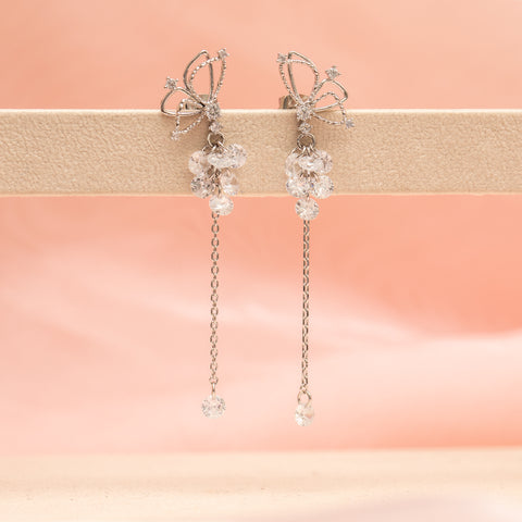 Butterfly Bubbly Dangle Earrings