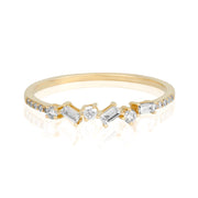 14k Fine So Charming Diamond Ring