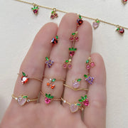 Fruit Basket Stud Set