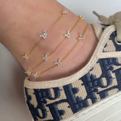 Born to Fly Anklet
