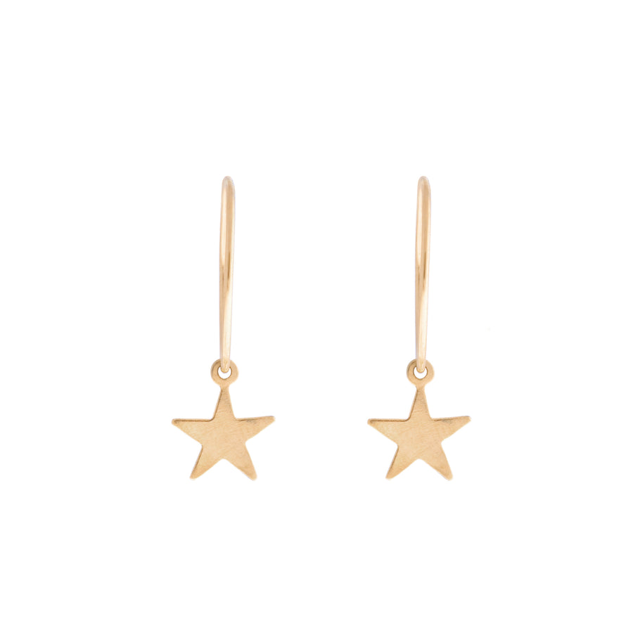 Mini Star Wire Hoops