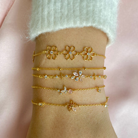 Winging It Bracelet : Gold