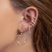 Fell in Love Heart Earrings