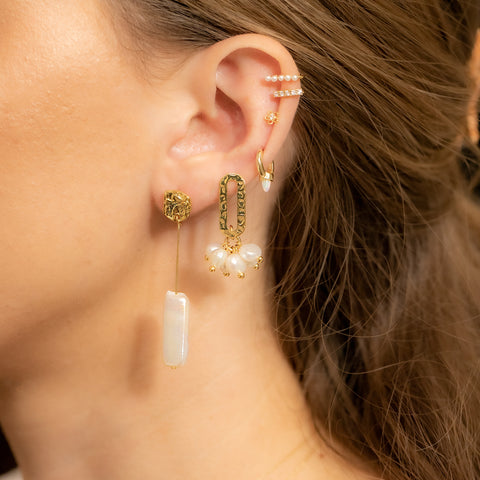 Happy Hour Pearl Earrings