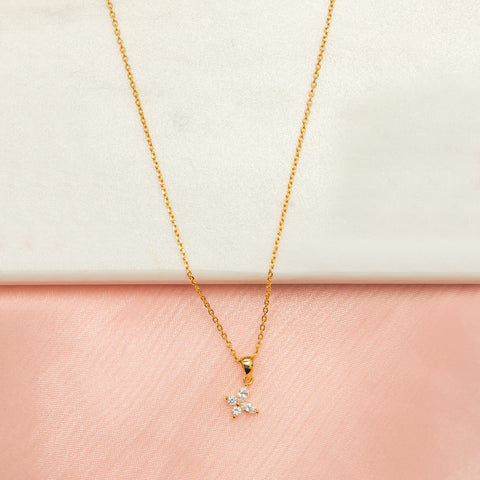 Flying Solo Butterfly Necklace