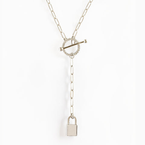 I'm Yours Mini Linked Y Drop Necklace