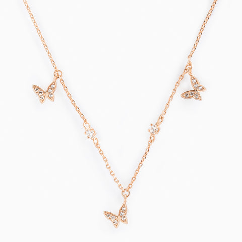 Butterfly Trio Necklace