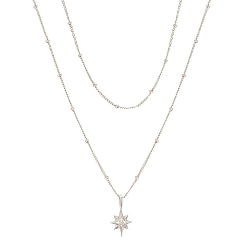 North Star Layered Necklace