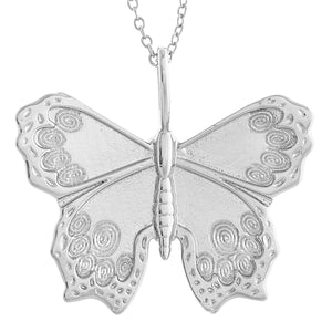 Butterfly Tiny Linked Necklace : Gold (Back order)
